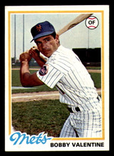 1978 Topps #712 Bobby Valentine Near Mint+