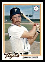 1978 Topps #723 John Wockenfuss Excellent+