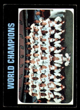 1971 Topps #1 World Champions Orioles Excellent  ID: 305466