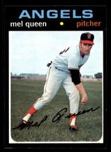 1971 Topps #736 Mel Queen NM-Mint SP High #