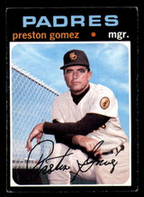 1971 Topps #737 Preston Gomez MG Excellent+ SP High #  ID: 306175