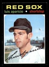 1971 Topps #740 Luis Aparicio Ex-Mint SP High #