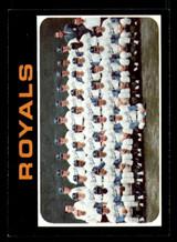 1971 Topps #742 Royals Team Near Mint+ High #