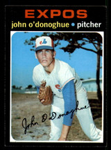 1971 Topps #743 John O'Donoghue Near Mint SP High #