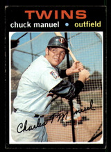 1971 Topps #744 Charlie Manuel Very Good SP High #  ID: 306182