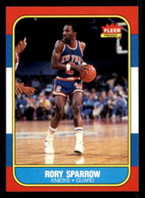 1986-87 Fleer #105 Rory Sparrow NM-Mint  ID: 306254