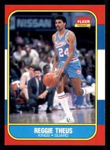 1986-87 Fleer #108 Reggie Theus Near Mint  ID: 306257