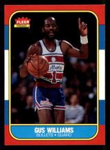 1986-87 Fleer #124 Gus Williams NM-Mint  ID: 306263