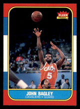 1986-87 Fleer #5 John Bagley Near Mint+ RC Rookie  ID: 306272