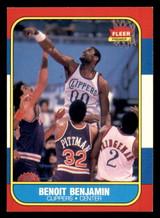 1986-87 Fleer #8 Benoit Benjamin Ex-Mint RC Rookie  ID: 306276