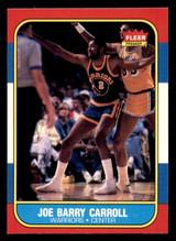 1986-87 Fleer #14 Joe Barry Carroll Near Mint+  ID: 306286