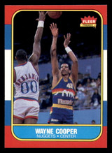 1986-87 Fleer #18 Wayne Cooper Near Mint+  ID: 306289