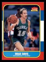 1986-87 Fleer #22 Brad Davis Near Mint RC Rookie  ID: 306296