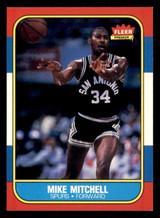 1986-87 Fleer #74 Mike Mitchell Ex-Mint  ID: 306366