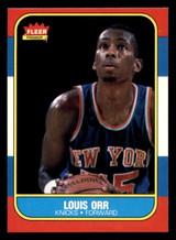 1986-87 Fleer #83 Louis Orr Near Mint  ID: 306376