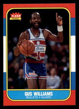 1986-87 Fleer #124 Gus Williams Near Mint+  ID: 306414