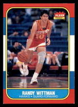 1986-87 Fleer #127 Randy Wittman Ex-Mint  ID: 306417