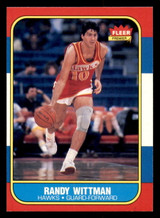 1986-87 Fleer #127 Randy Wittman Near Mint  ID: 306418