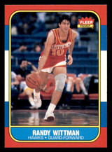 1986-87 Fleer #127 Randy Wittman NM-Mint  ID: 306419