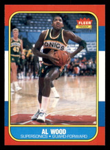 1986-87 Fleer #128 Al Wood Near Mint+  ID: 306420