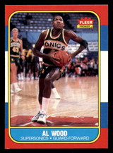 1986-87 Fleer #128 Al Wood Near Mint  ID: 306422
