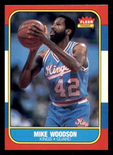 1986-87 Fleer #129 Mike Woodson Near Mint+  ID: 306423