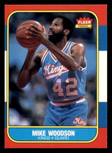 1986-87 Fleer #129 Mike Woodson Near Mint  ID: 306424