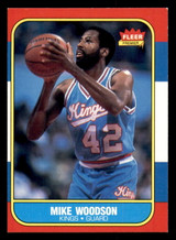 1986-87 Fleer #129 Mike Woodson Ex-Mint  ID: 306425