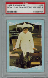 1968 Flying Nun #25 NowI Can Taxie...  PSA 8 NM-MT  #*