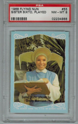 1968 Flying Nun #55 Sister Sixto, Played...  PSA 8 NM-MT  #*