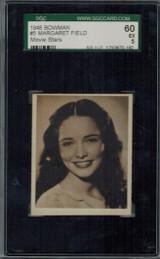 1948 Movie Stars #5 Margaret Field  SGC 60 EX 5  #*