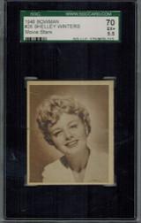 1948 Movie Stars #26 Shelley Winters  SGC 70 EX+ 5.5  #*