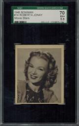 1948 Movie Stars #14 Roberta Jonay  SGC 70 EX+ 5.5  #*