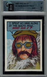1967 Who Am I! #27 Adm. Richad Byrd GAI 7 NM   #*  #*