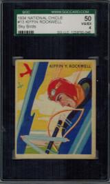 1933/4 SKY BIRD #13 KIFFIN ROCKWELL SGC 50 VG 4   #*