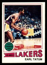 1977-78 Topps #122 Earl Tatum Near Mint  ID: 306920