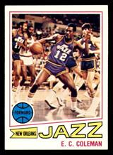 1977-78 Topps #123 E.C. Coleman Ex-Mint  ID: 306921