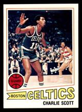 1977-78 Topps #125 Charlie Scott Near Mint  ID: 306923