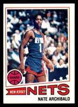 1977-78 Topps #127 Nate Archibald Ex-Mint