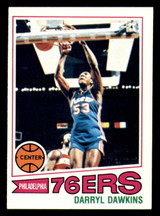 1977-78 Topps #132 Darryl Dawkins Excellent+ RC Rookie