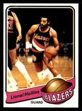 1979-80 Topps #129 Lionel Hollins Ex-Mint