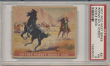 1937 WILD WEST SERIES #21 ROPING WILD HORSES PSA 3 VG  #*