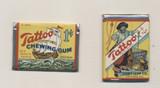 1932 ORIG. ORBIT PIRATE GUM TATTOO UNOPENED WAX PACK  1 CENT  #*