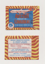 1960'sParade Of Aircraft 5 Cent Made In Spain Stickers  Unopened  #*