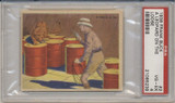 1938 FRANK BUCK #2 A LEOPARD ON THE LOOSE PSA 4 VG-EX  #*