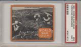 1933 World War Gum R174 #93 Throwing Grenades PSA 7 NM  #*