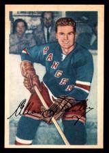 1953-54 Parkhurst #64 Allan Stanley Very Good