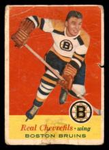 1957-58 Topps #1 Real Chevrefils Poor