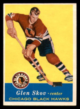 1957-58 Topps #30 Glen Skov Ex-Mint