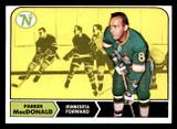 1968-69 Topps #55 Parker MacDonald Near Mint  ID: 307838